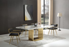 athena-guld-matbord-inkl-leah-guld-stol