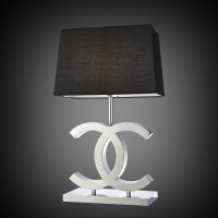 Chanel Krom Svart - Bordslampa (940x940)