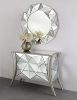 Cubic - Sidobord inkl. Spegel