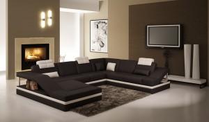 Dublin Vänster - U-soffa
