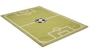 Fotboll 133x190cm - Barnmatta