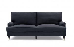 Howard Luxor 3,5 sits Mörkgrå - Tygsoffa