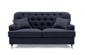 Howard Style 2,5 Sits Mörkgrå - Tygsoffa