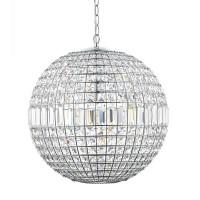 Kristallboll Krom 40Cm - Kristallkrona