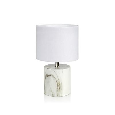 Markslöjd Ines Bordslampa Marmorprint 1L