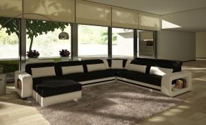 Modern - U-Soffa
