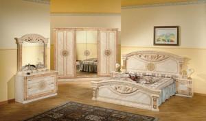 Roma Beige - Sängpaket
