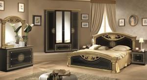 Roma SvartGuld – Sängpaket