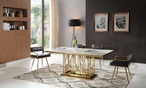 thema-guld-matbord-inkl-leah-guld-stol