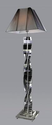 Trappstege Klar Kristall – Golvlampa
