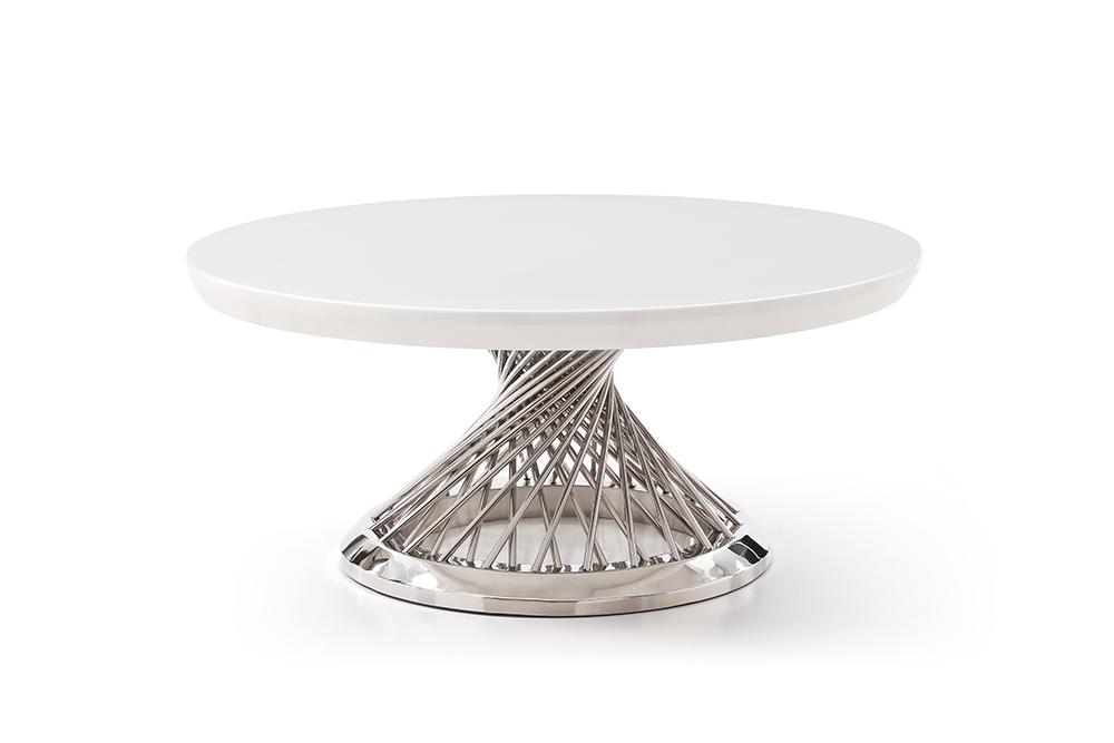 Ava Silver Soffbord Kungsmöbler