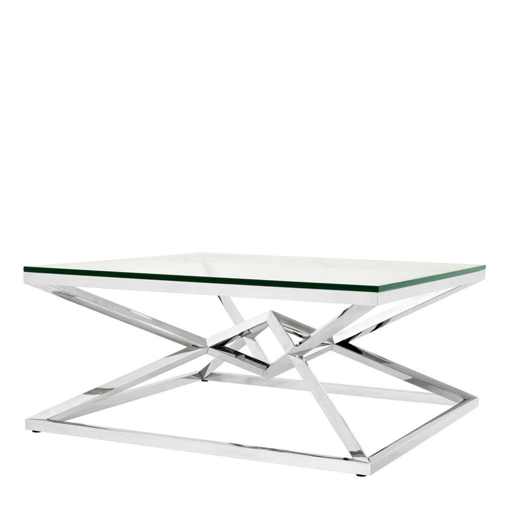 Fräscha Diamond Krom 100 – Soffbord - Kungsmöbler LY-61