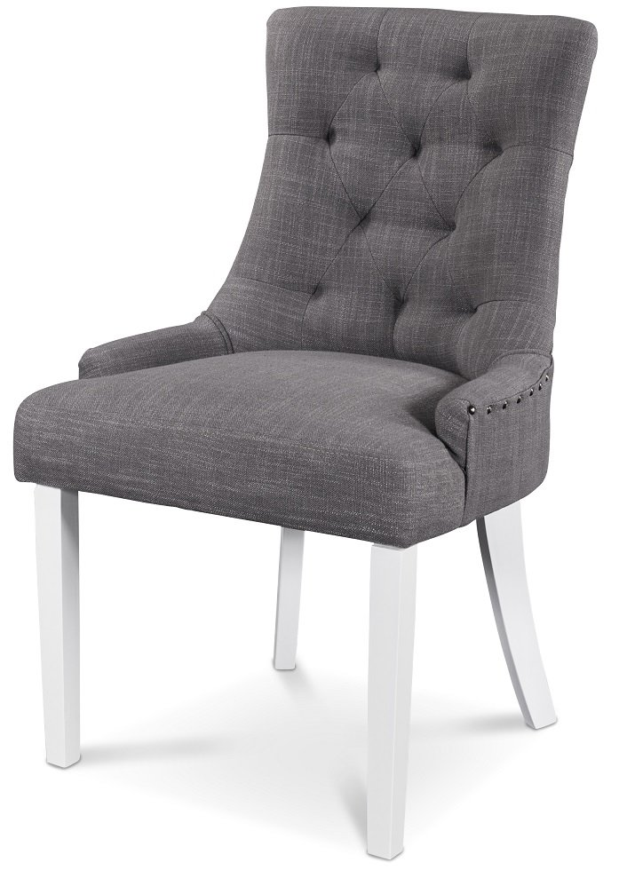Fantastisk tuva-stol-gra-vita-ben - Kungsmöbler LB-81